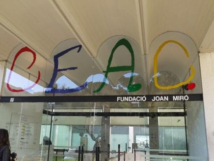 fondation Miro Parc de Monjuic