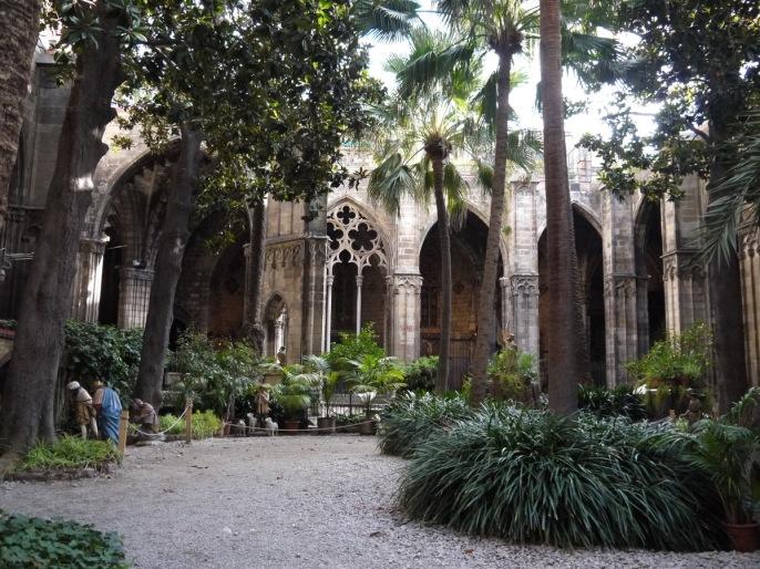 cathédrale de Barcelone