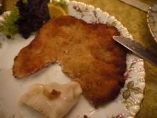kotlet schabowy (porc très plat, pané puis frit