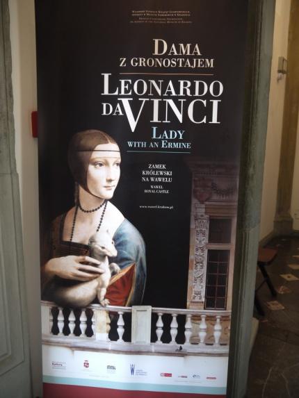 La Dame à l'hermine de Léonard de Vinci