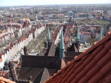 La vue du haut de la tour