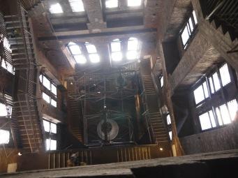 L'escalier vue du haut !