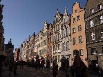 Les rues de Gdansk