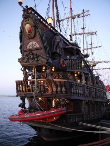 Les bateaux du port de Gdynia