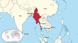 La Birmanie et les pays limitrophes