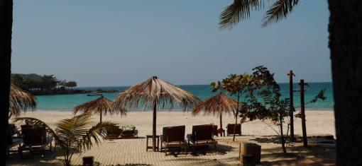 Ngapaly sa plage, son eau turquoise, son sable blanc