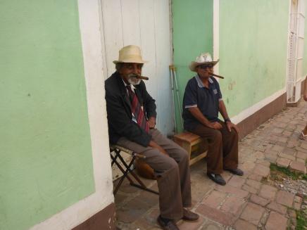 Les papys au cigare ;o)