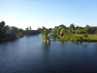 le lac et l'île