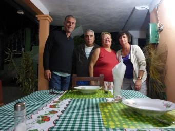 Pat, Raul, Rosa et Vava