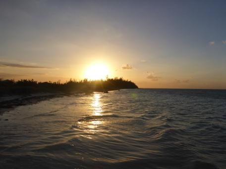 Et le coucher de soleil