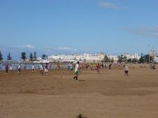 La plage et Essaouira
