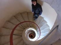 L'escalier qui monte aux toits