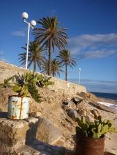 La plage au bout des remparts
