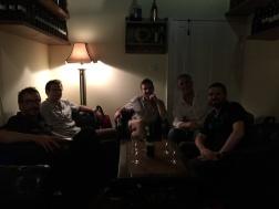 Mathieu, Yohan, Thomas, moi et Jeff