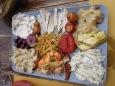 Osteria Alla Bifora assiette de la pêche