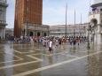 Venise et l'Aqua Alta place San Marco