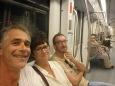 Valpat et Mathieu dans le métro d'Alger