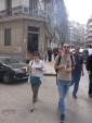 Les gourmands manger en marchant ;o) Val et Mathieu