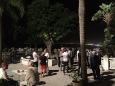 Réception à l'ambassade de France à Alger la vue sur la ville !