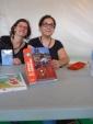 Fibda Anne Claire Jouvray et Sandrine Deloffre en dédicace