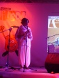 """Concert chanteuse de Gnaoui Hasna El Becharia surnommée """"La Rockeuse du Désert"""""""
