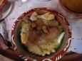 Rechta au poulet plat typique algérien