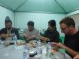 Alger dîner Jean-Marie Minguez, Jérôme Jouvray, Anaïs Depommier, Mathieu Diez