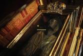 la momie de Saint Spyridon