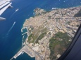 Corfu vue de l'avion