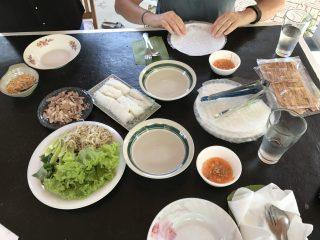 Déjeuner chezl'habitant