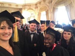 Remise des diplômes de Master 2