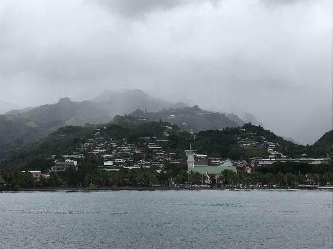 Le beau temps polynésien !