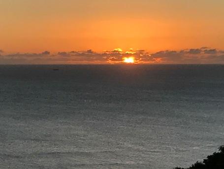 Notre dernier coucher de soleil