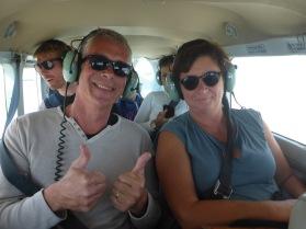 Nazca : Valpat dans l'avion