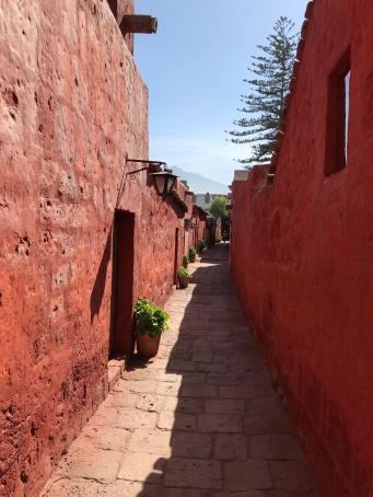 Santa Catalina : une ruelle