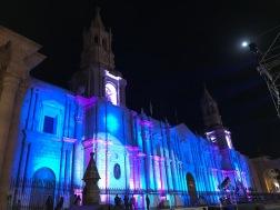Arequipa : plaza des Armas