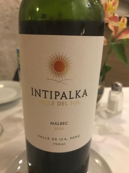 Restaurant Dimas : Malbec