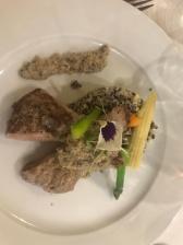 Restaurant Dimas : risotto de tres quinuas
