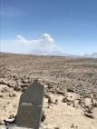 Sabancaya vue du col de Patapampa