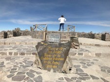 col Patapampa à 4910m