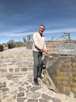 Pat au col Patapampa à 4910m