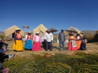 Les îles Uros sur le Titicaca