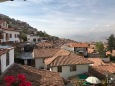 Cusco vue de l'hôtel Encantada