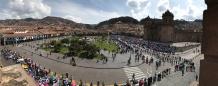 Vue de l'église de la Compara de Jésus Cusco