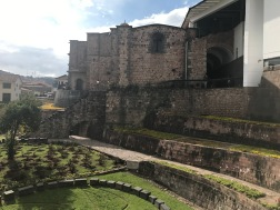 Cusco Couvent de Santo Domingo et le temple del Sol Coricancha