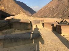 Pérou forteresse d'Ollantaytambo