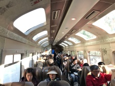 Le train pour le Machu Picchu