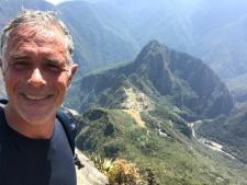 Vue du sommet de la Montana Picchu