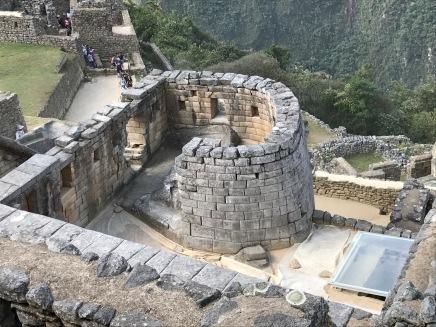 Le Machu Picchu : Temple du Soleil