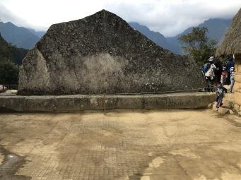 Le Machu Picchu la roche Sacrée